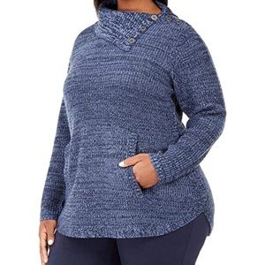 Style and Co blue sweater NWT